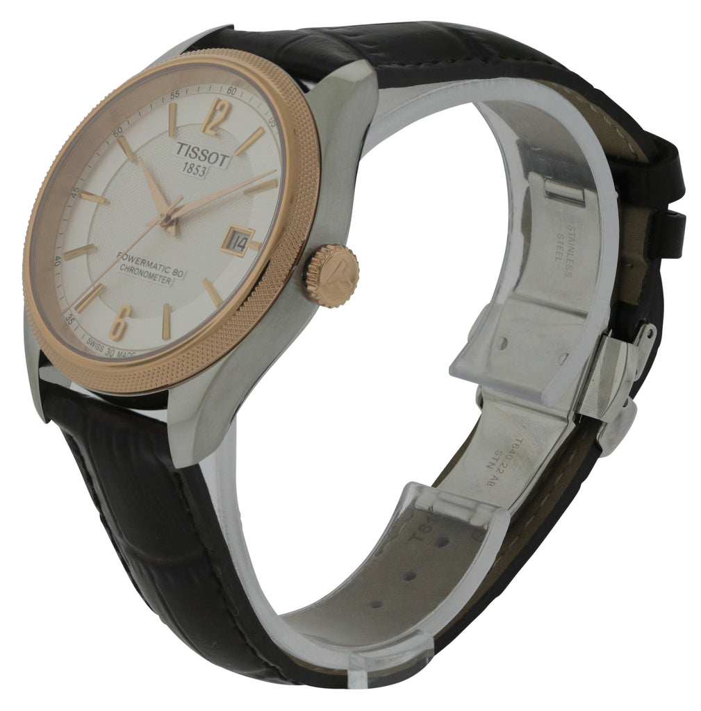 Tissot Ballade Powermatic 80 Leather Mens Watch
