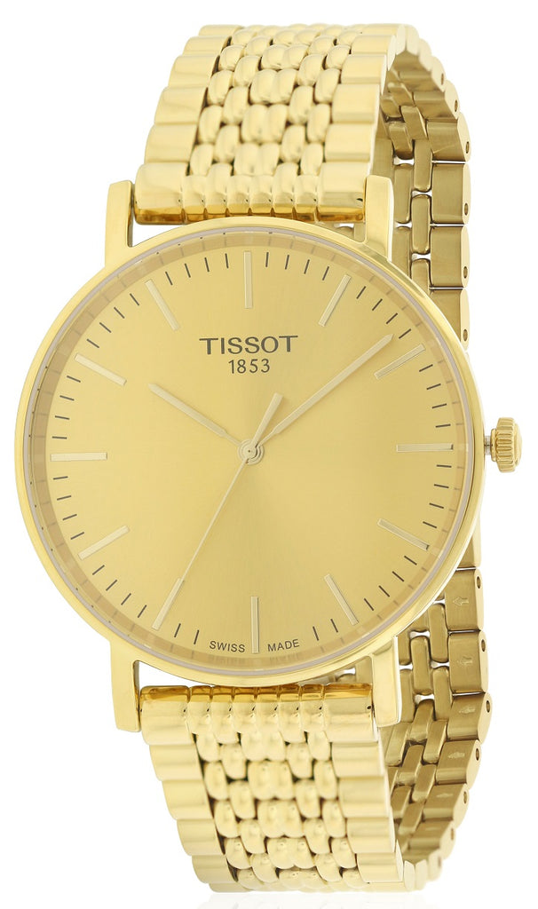 Tissot Everytime Medium Gold-Tone Mens Watch