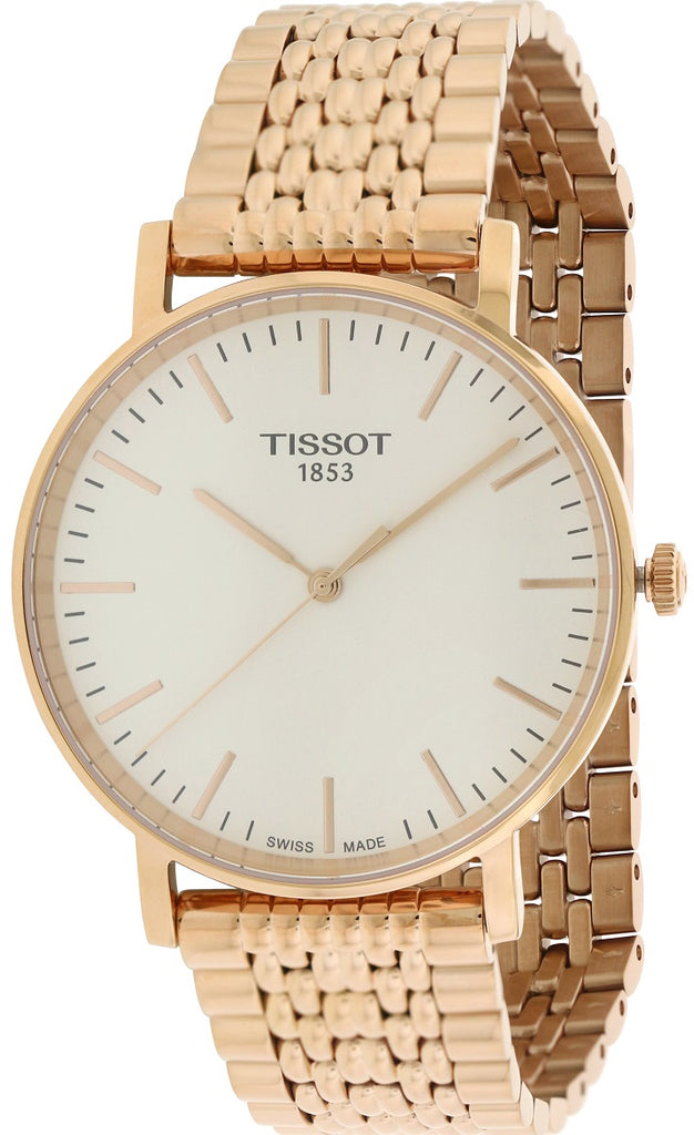 Tissot Everytime Medium Rose Gold-Tone Mens Watch
