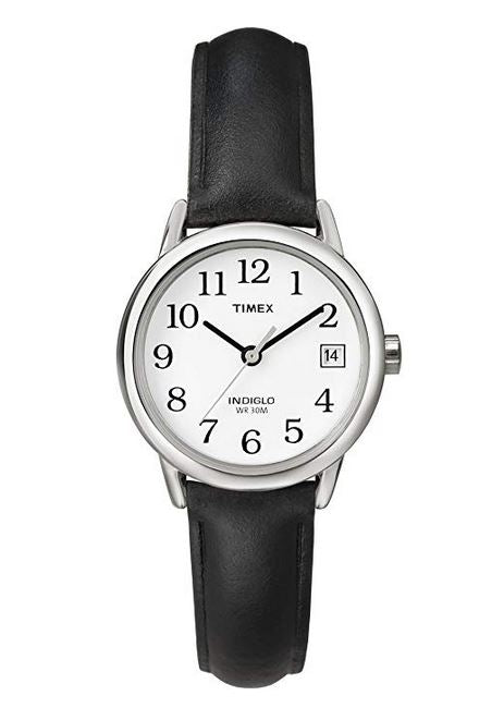 Timex Easy Reader Leather Ladies Watch