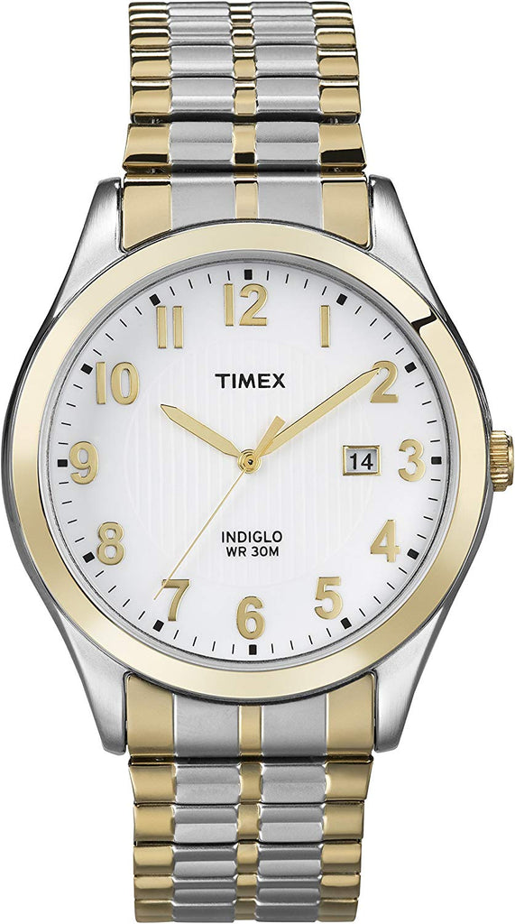 Timex Woodcrest Drive Two-Tone Expansion Mens Watch