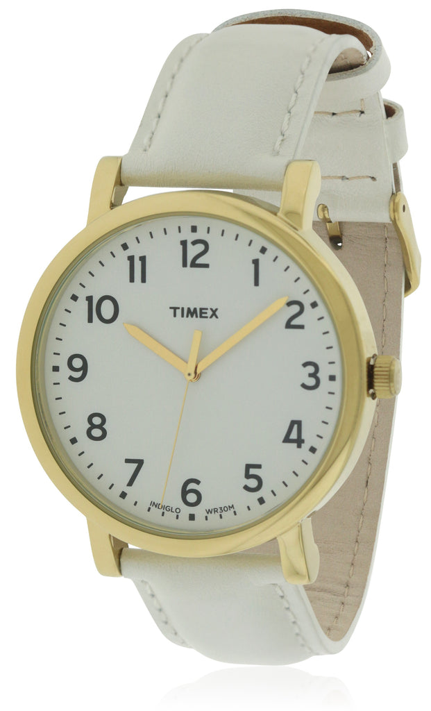 Timex Leather Unisex Watch