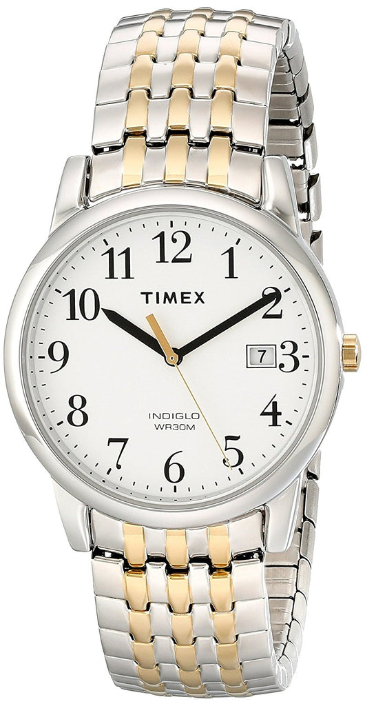 Timex Easy Reader Two-Tone Stainless Steel Unisex Watch