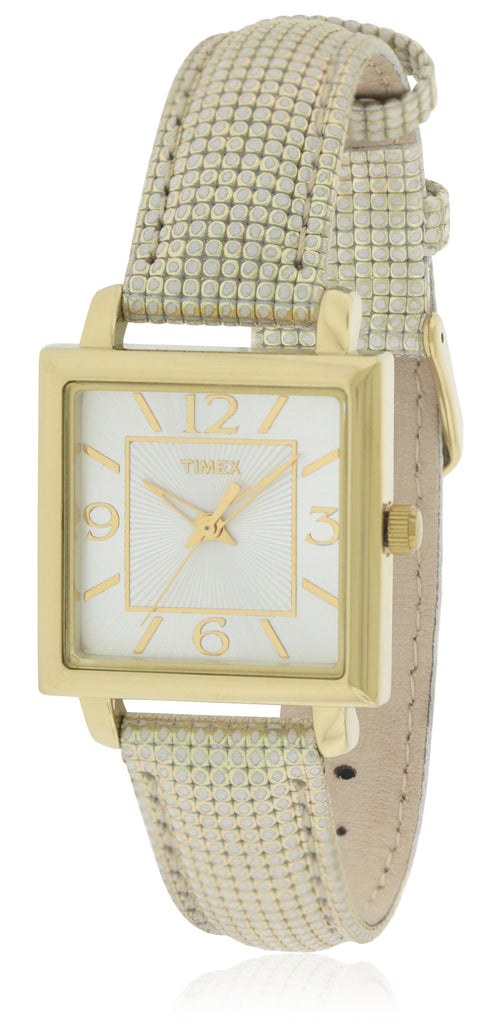 Timex Elevated Classics Leather Ladies Watch
