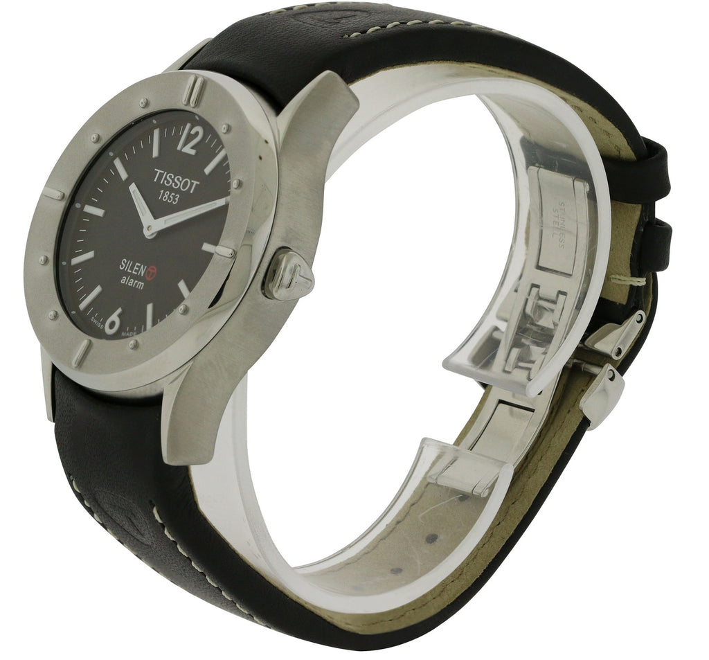 Tissot Silen-T Touch Screen Alarm Leather Unisex Watch