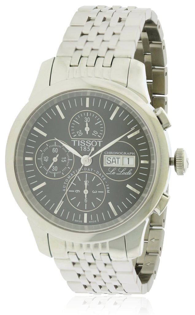 Tissot Le Locle Automatic Chronograph Stainless Steel Mens Watch