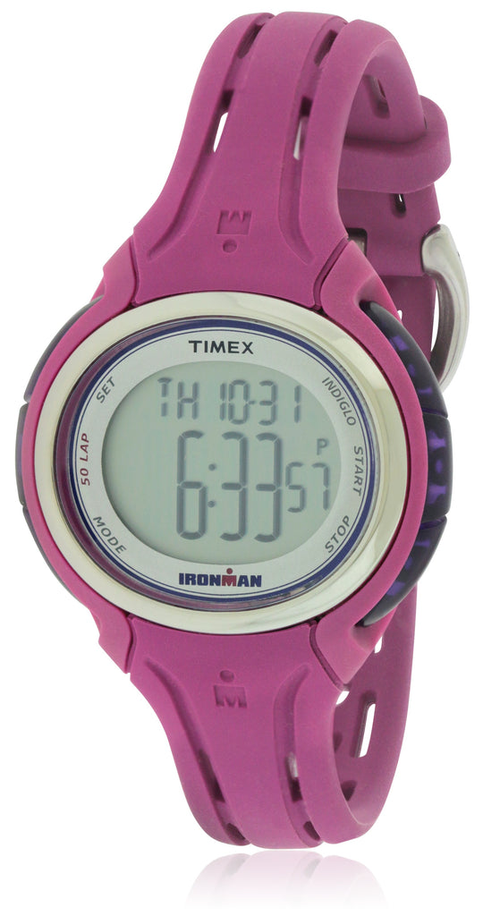 Timex Ironman Sleek 50 Resin Ladies Watch TW5K90400