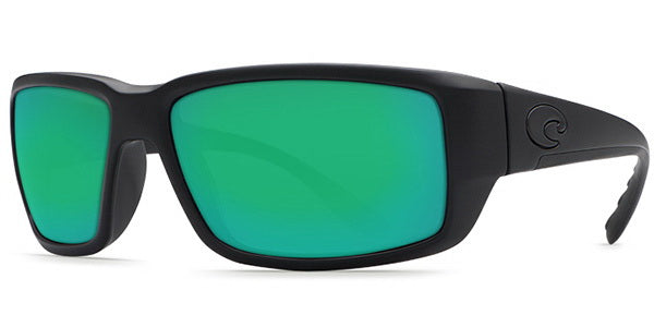 Costa Del Mar Fantail Polarized Blackout Men Sunglasses