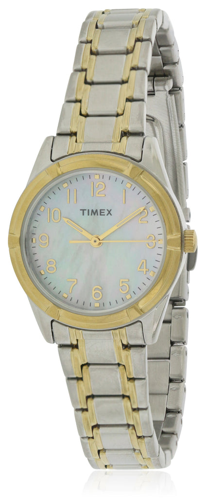 Timex Easton Avenue Two-Tone Stainless Steel Ladies Watch