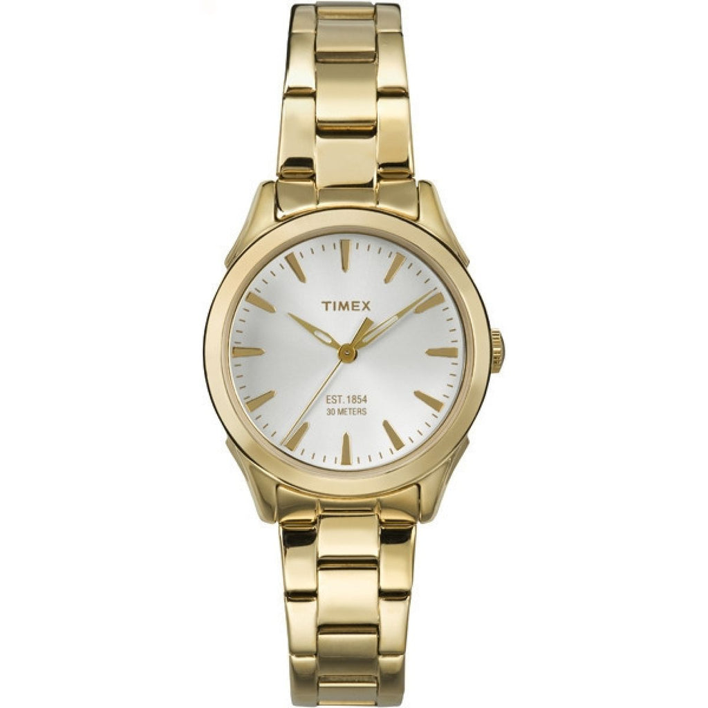 Timex City Gold-Tone Ladies Watch