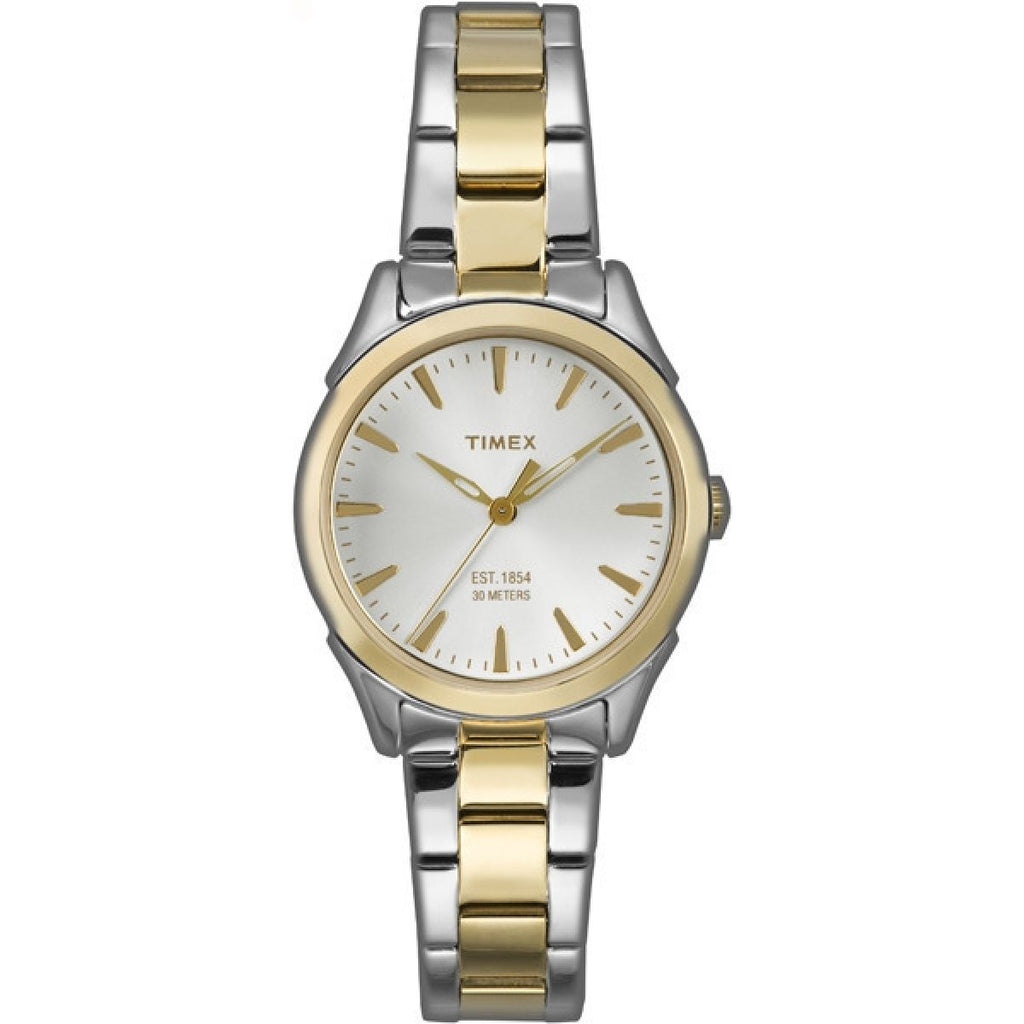 Timex City Two-Tone Ladies Watch