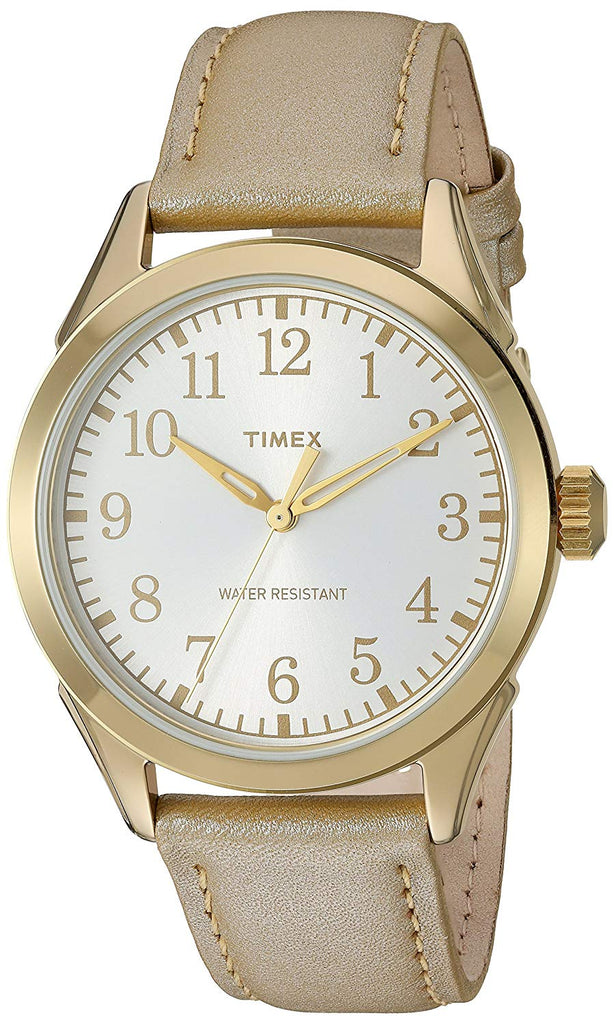 Timex Briarwood Leather Ladies Watch