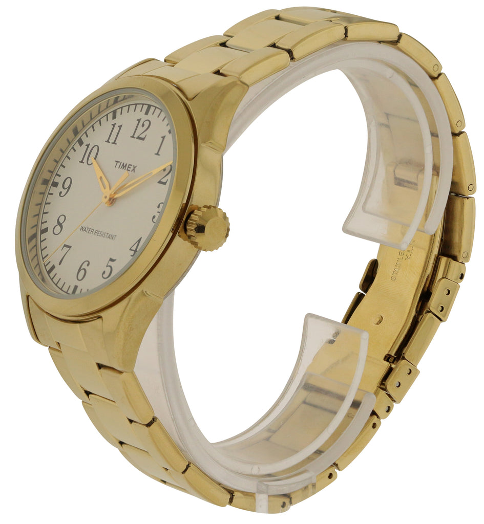 Timex Elevated Classic Expansion Gold-tone Ladies Watch
