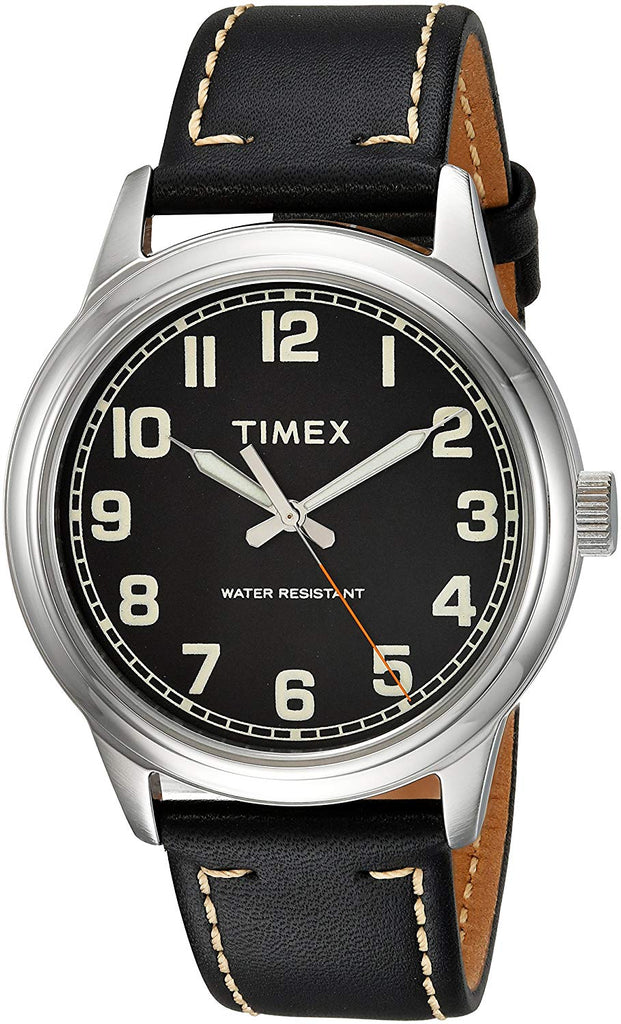 Timex New England Leather Mens Watch