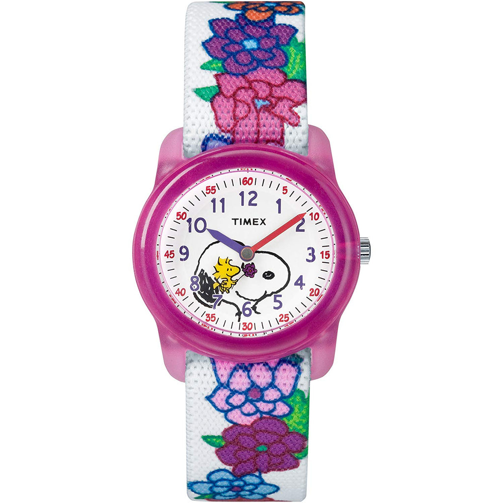 Timex Time Machines Peanuts Collection Girls Watch