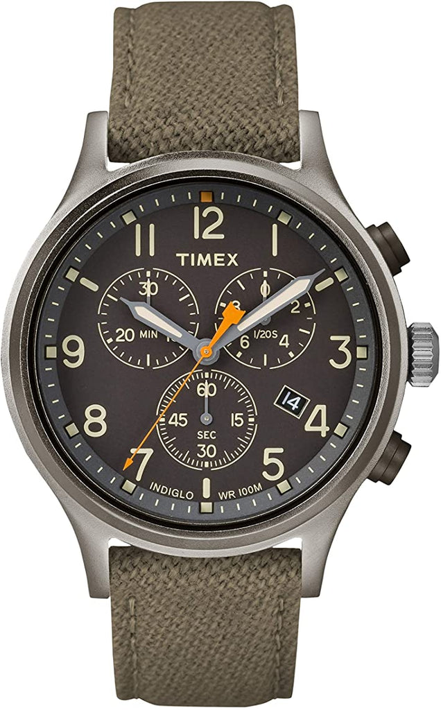 Timex Allied Chronograph Nylon Mens Watch