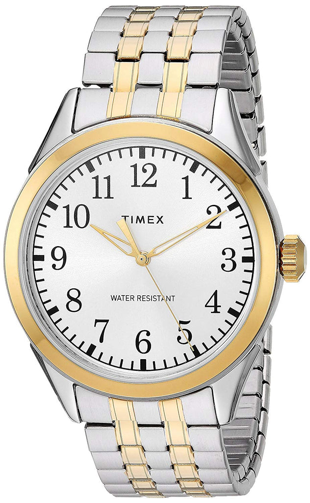 Timex Briarwood Two-Tone Expansion Mens Watch