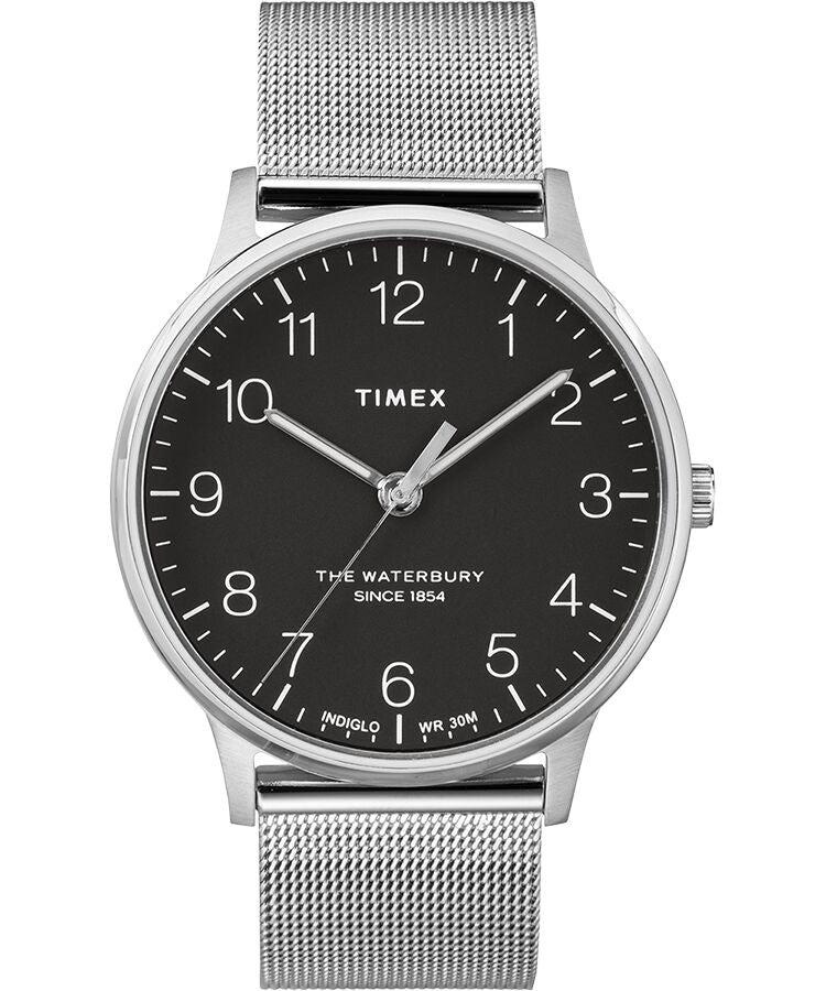 Timex The Waterbury Stainless Steel Mesh Mens Watch TW2R89300VQ