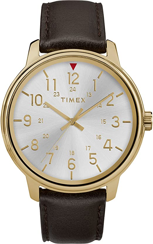 Timex Classic Leather Mens Watch