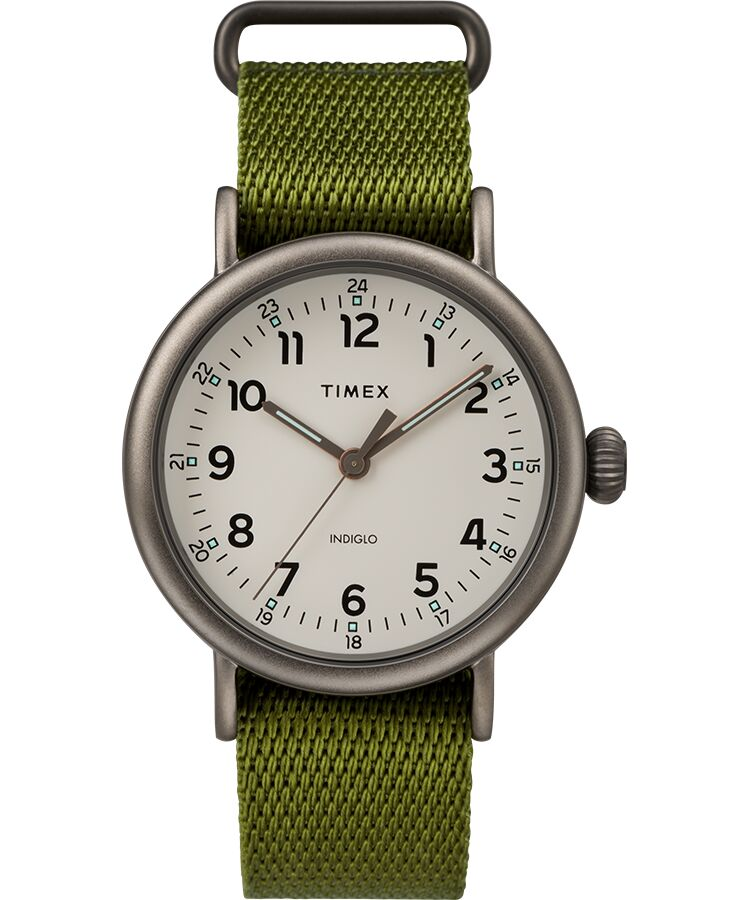Timex Standard Green Fabric Mens Watch