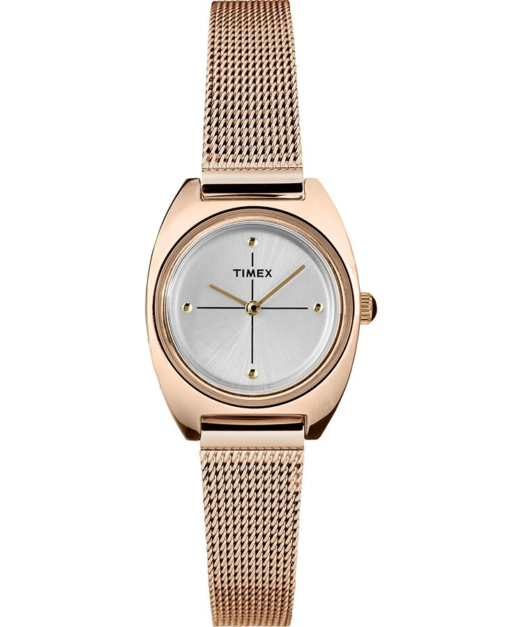 Timex Milano Petite Rose Gold-Tone Mesh Ladies Watch