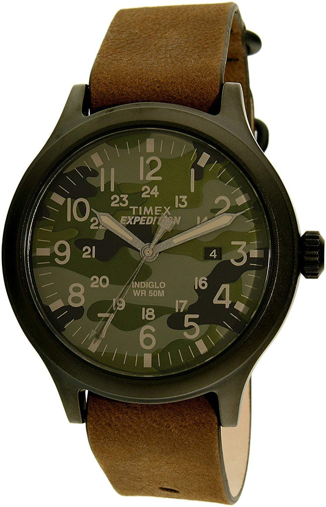 Timex Elevated Leather Mens Watch