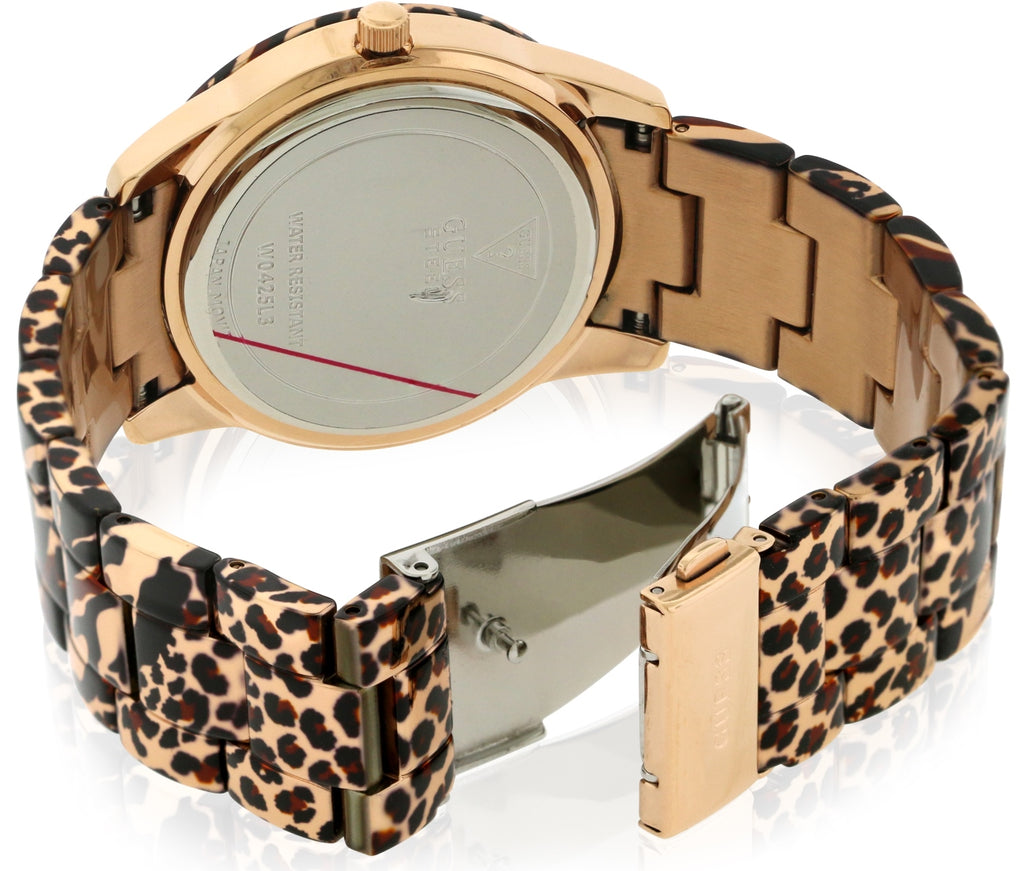 GUESS Vixen Rose Gold-Tone Ladies Watch