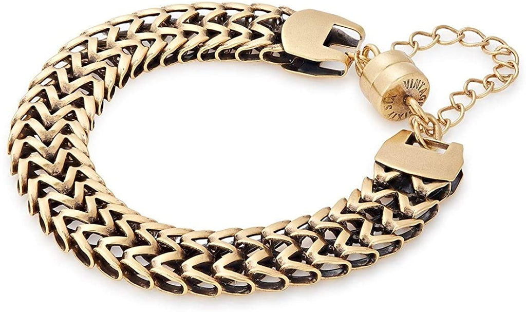 Alex and Ani Windfall Magnetic Bracelet - Gold Finish -
