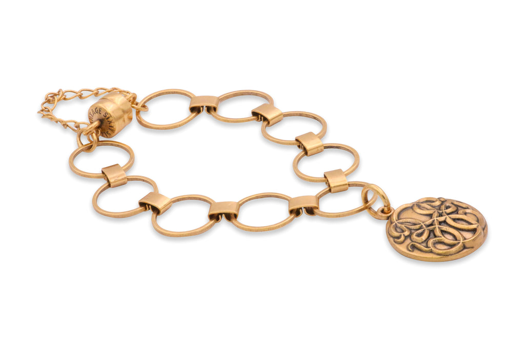 Alex and Ani Path of Life Magnetic Charm Bracelet Rafaelian Gold - Gold Finish -