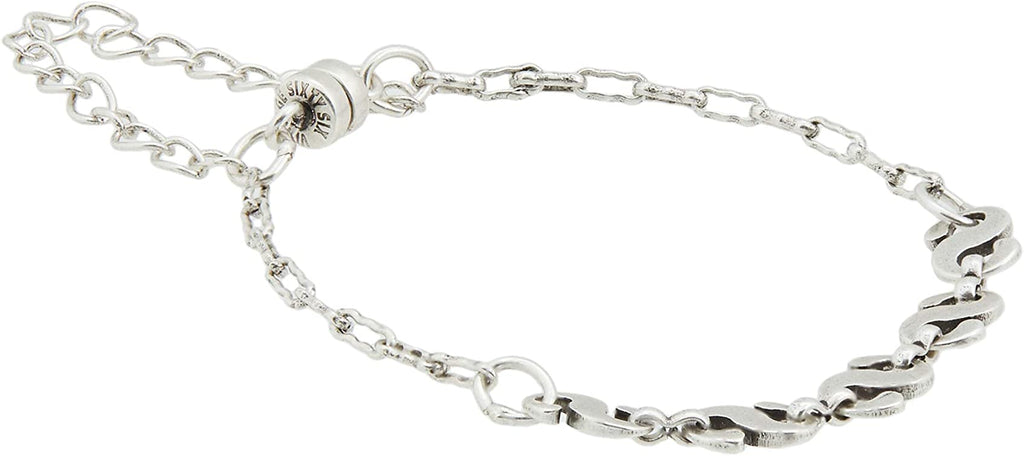 Alex and Ani Mystic Serpent Magnetic Bracelet - Silver Finish -