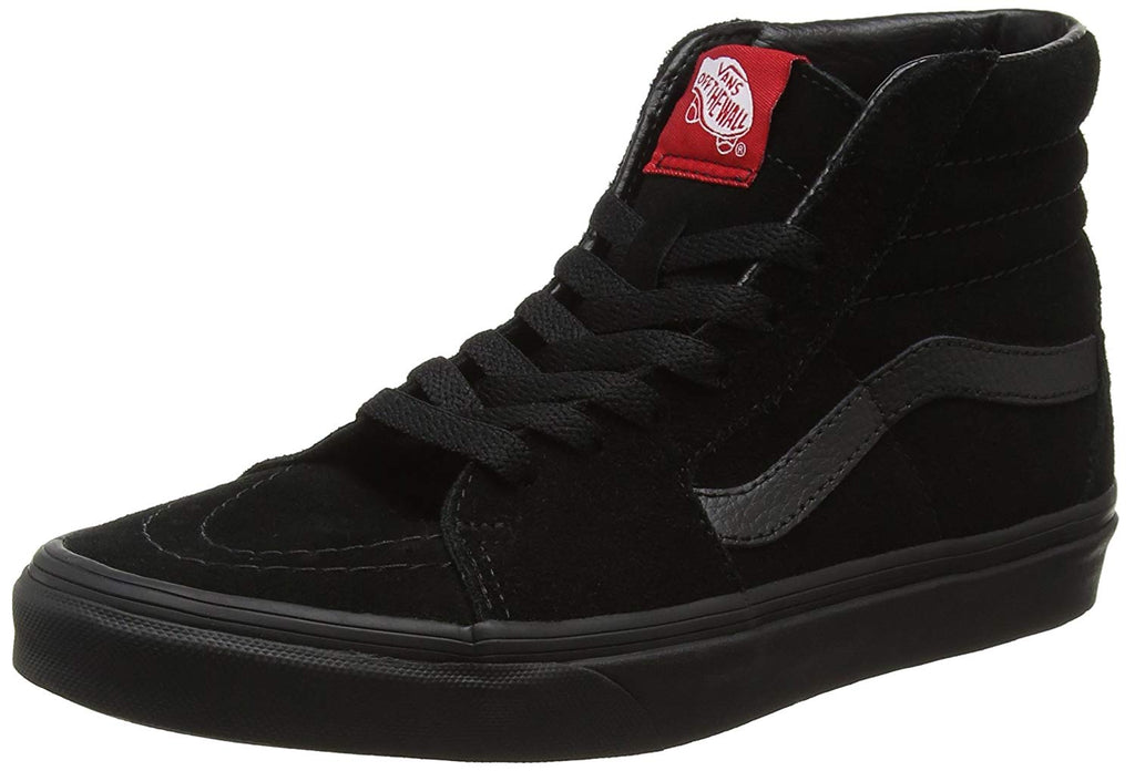 Vans Unisex SK8-Hi Suede Trainer -  Black -  3 UK