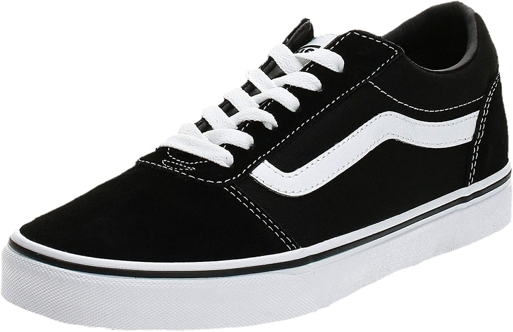 Vans Ward Mens Skate Shoe - Black - 10.5