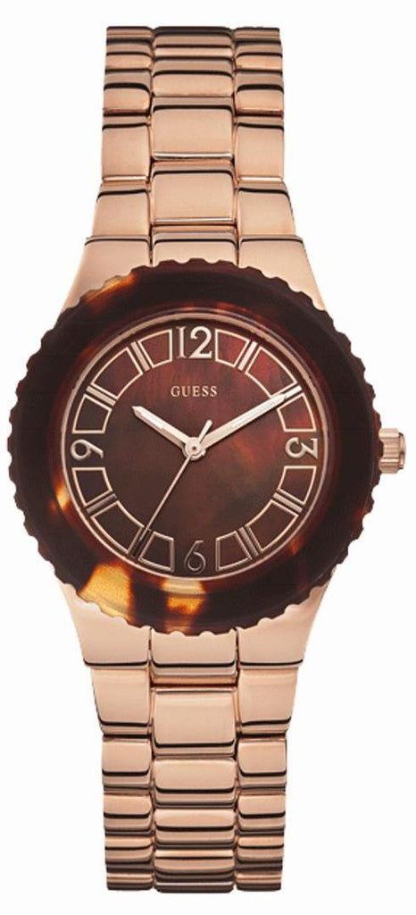 GUESS Rose Gold-Tone Ladies Watch