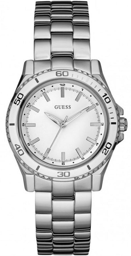 Guess Sport Stainless Steel Ladies Watch