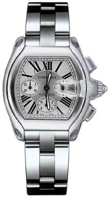 Cartier Roadster Dual Bracelet Mens Watch