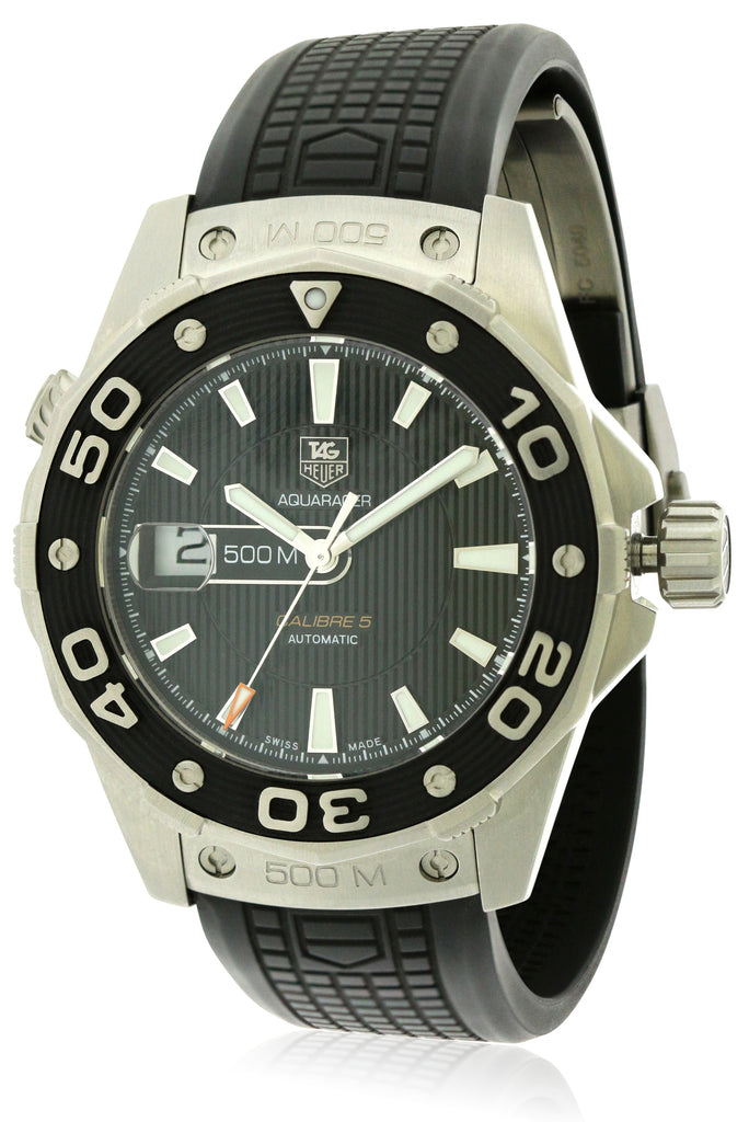 TAG HEUER AQUARACER CAL.5 500M MENS WATCH