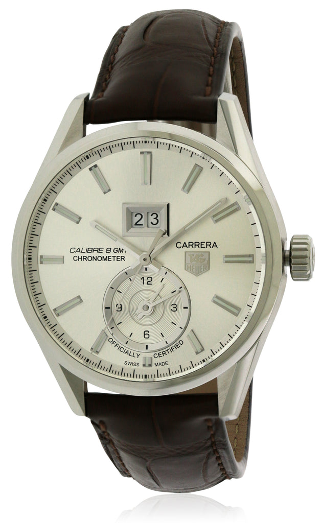 Tag Heuer Carrera Calibre 8 GMT Leather Mens Watch