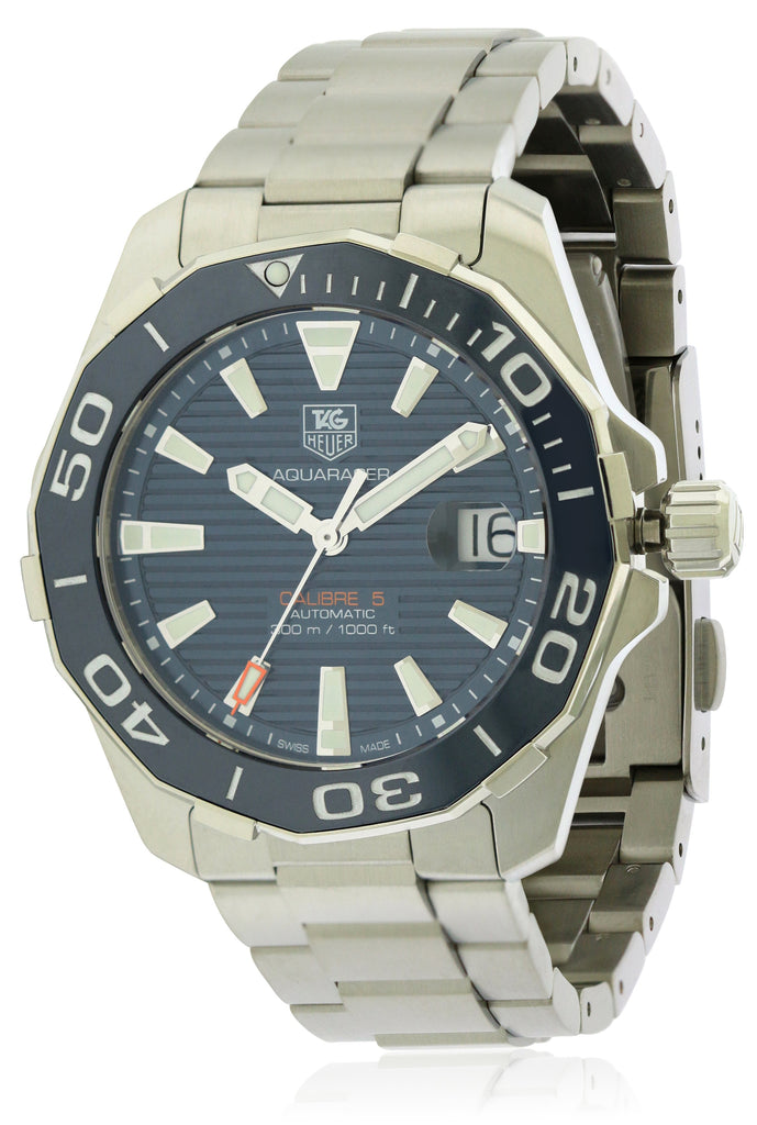 Tag Heuer Aquaracer Navy Automatic Stainless Steel Mens Watch