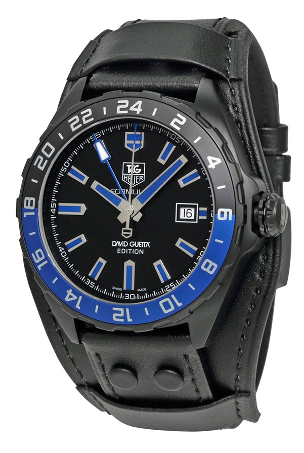 Tag Heuer Formula 1 David Guetta Black Automatic Mens Watch