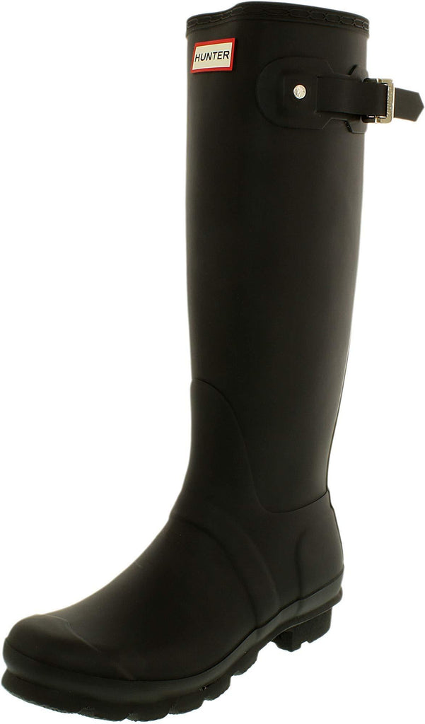 Hunter Womens Original Tall Snow Boot - Black - Size 8