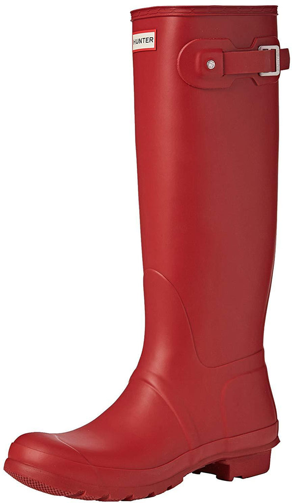 Hunter Womens Original Tall Snow Boot - Military Red - Size 7
