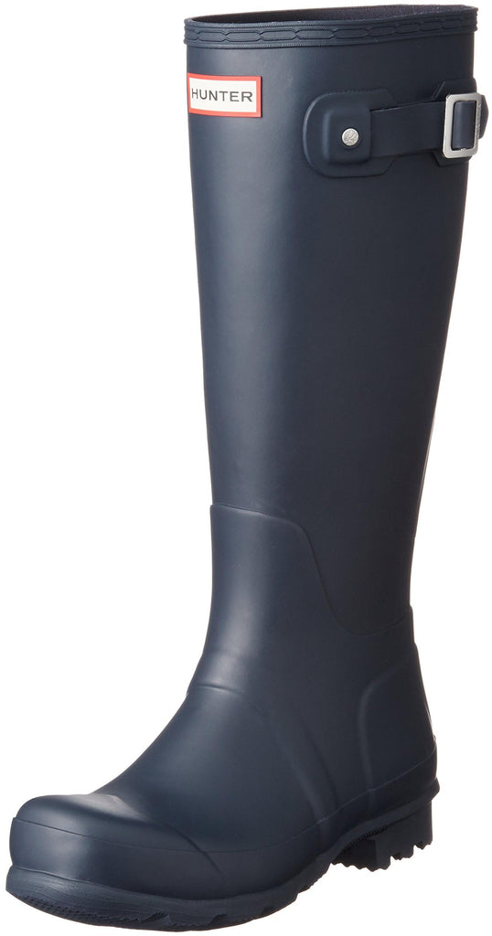 Hunter Womens Original Tall Snow Boot - Navy - Size 6