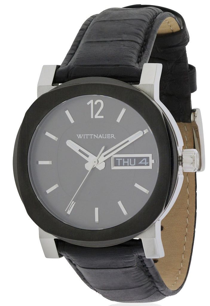 Wittnauer Aiden Leather Mens Watch