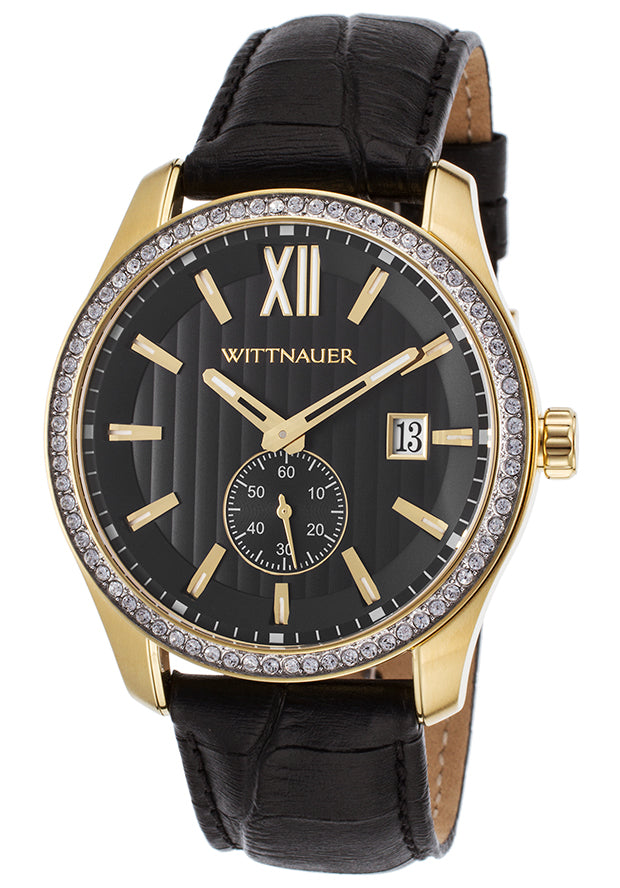 Wittnauer Leather Mens Watch