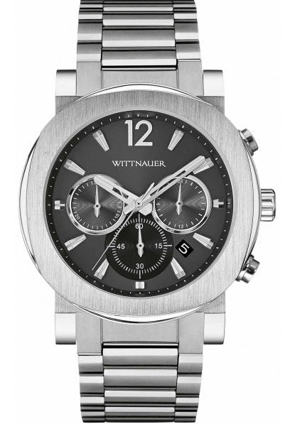 Wittnauer Aiden Chronograph Stainless Steel Mens Watch