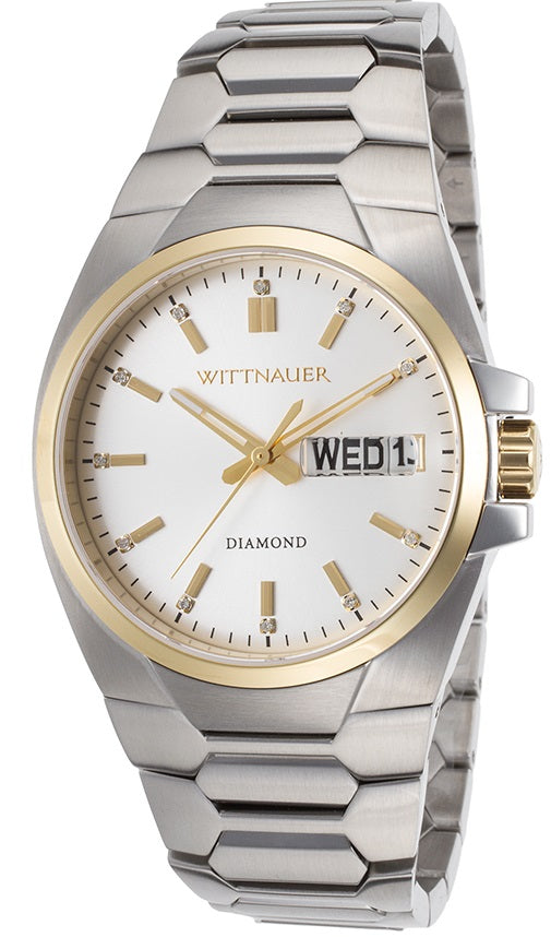 Wittnauer Brody Stainless Steel Mens Watch