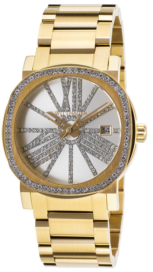 Wittnauer Gold-Tone Stainless Steel Ladies Watch