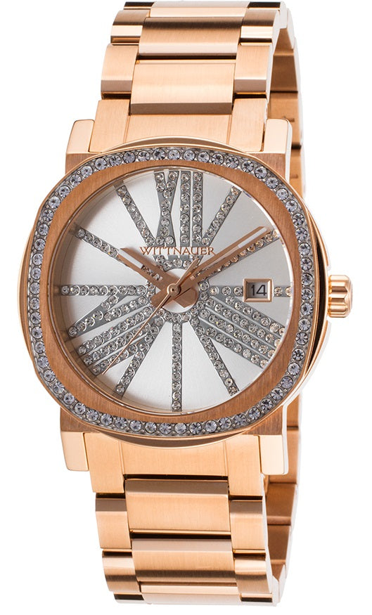 Wittnauer Rose Gold-Tone Ladies Watch