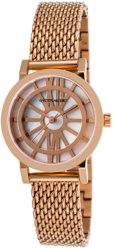 Wittnauer Charlotte Rose Gold-Tone Ladies Watch
