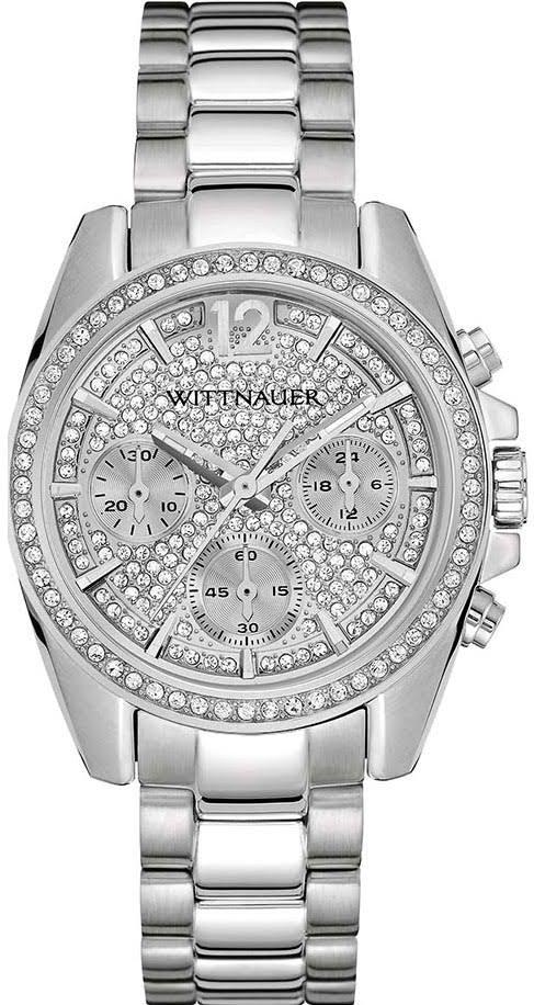 Wittnauer Lucy Chronograph Stainless Steel Ladies Watch